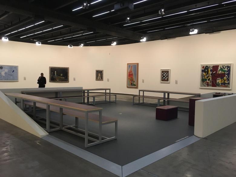 Vista parcial das obras do Centro Pompidou I