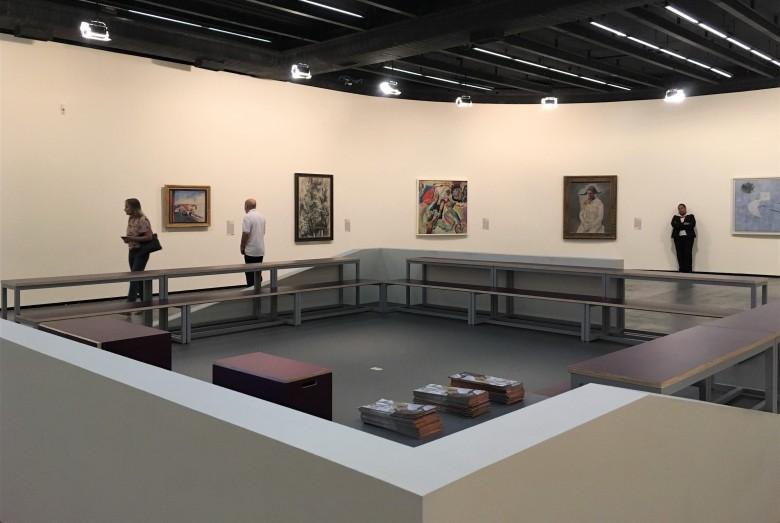 Vista parcial das obras do Centro Pompidou II