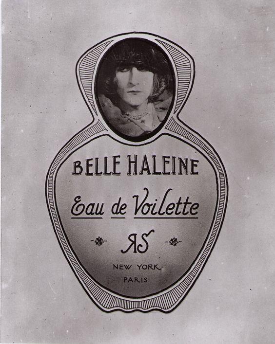 Marcel Duchamp_Rose Selavy_Belle Haleine_Eau de Violette_1921