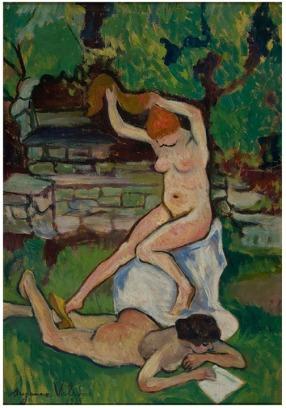 Nus-(1919)-de-Suzanne-Valadon