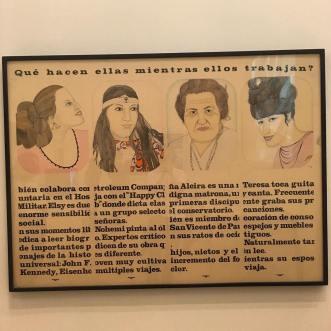 Clemencia Lucena, O que elas fazem enquanto eles trabalham_