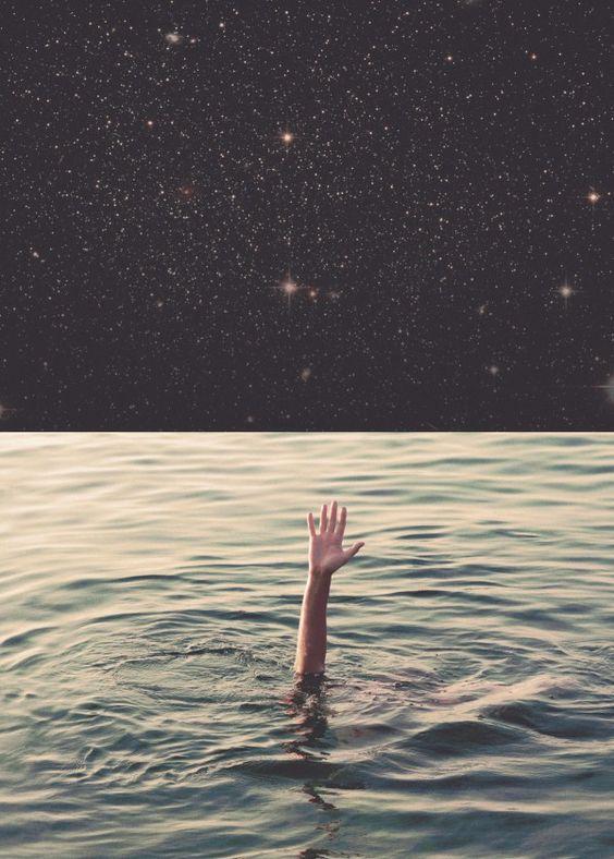 no mar não tem pra onde correr