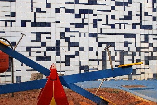 Athos Bulção - Escola Classe SQN 408 Foto: Ricardo Padue/Tríade