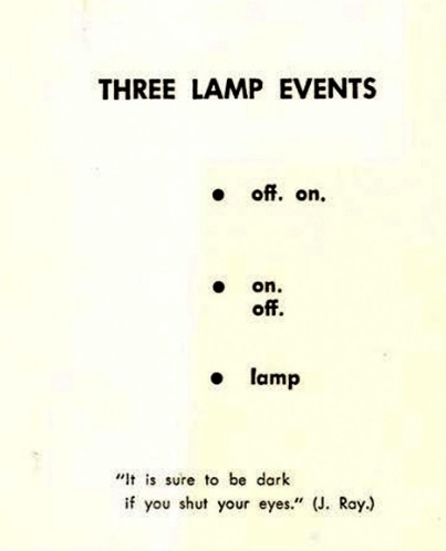 three lamp events