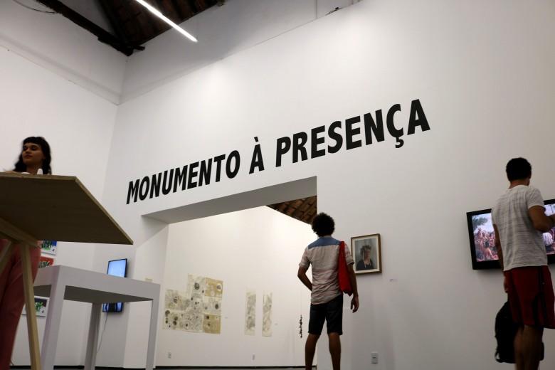 Monumento a Presença, Afresco, (2018)