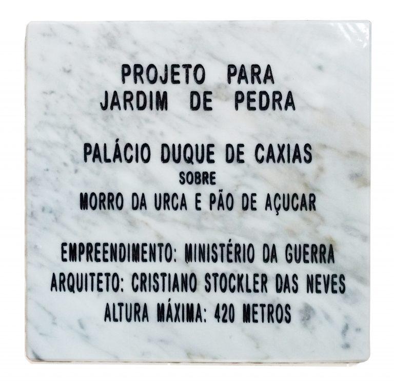 Projeto para Jardim de Pedra (2017)