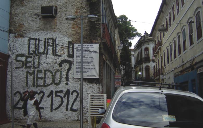 Projeto de Escuta Qual o seu Medo (2007-2012)