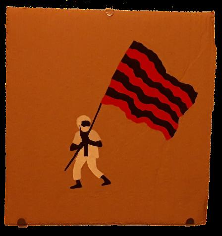 Série armas, bandeira, 2019