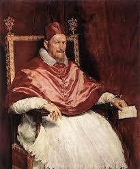 Retrato do Papa Inocencio X, Diego Velázquez, (1650)