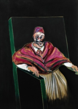 Study for Pope I, Francis Bacon (1953)