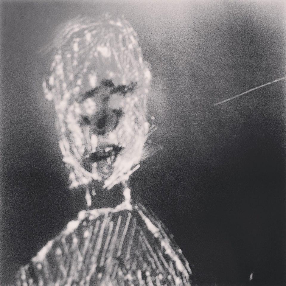 Caminhante das Estrelas, série aura córtex pixels nanquim. (2014)