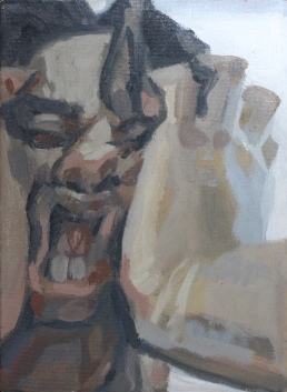 Retratos Sinceros, acrílica sobre tela, 22x16cm. (2018)